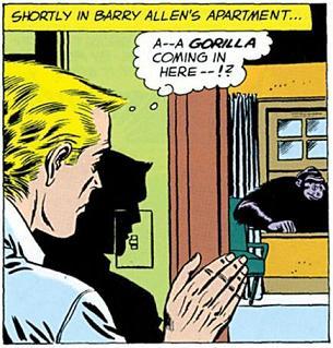 バリー「……家に帰ったら、部屋にゴリラいるんだけど」