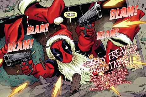 クリスマスの亡霊が来たぜ!