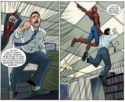 スパイダーマンによるJJJ拉致事件