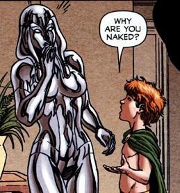 なんで裸なの?